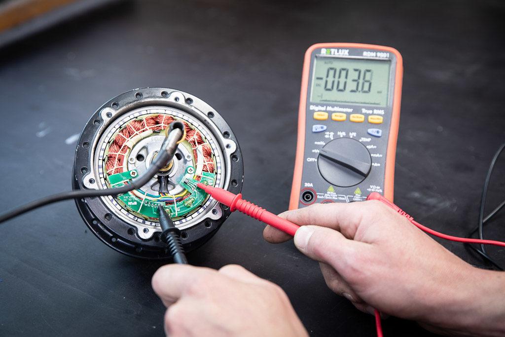 Oprava elektrické části elektrokola